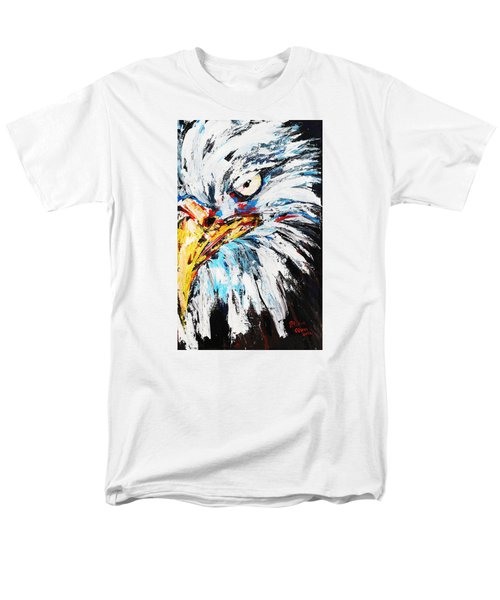 Eagle Men's T-Shirt  (Regular Fit) by Patricia Olson
