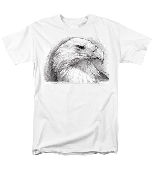 Eagle Portrait Men's T-Shirt  (Regular Fit) by Alban Dizdari