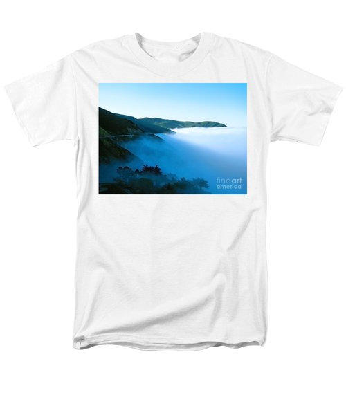 Early Morning Coastline Men's T-Shirt  (Regular Fit) by Ellen Cotton