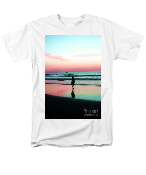 Early Morning Stroll Men's T-Shirt  (Regular Fit) by Dan Stone