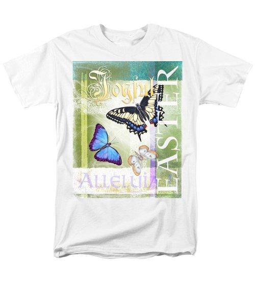 Easter Alleluia Men's T-Shirt  (Regular Fit)