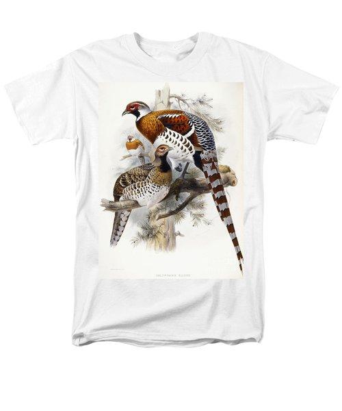 Elliot's Pheasant Men's T-Shirt  (Regular Fit) by Joseph Wolf