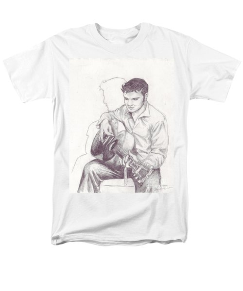 Elvis Sketch Men's T-Shirt  (Regular Fit)