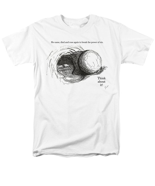 Empty Tomb Men's T-Shirt  (Regular Fit) by Jerry Ruffin