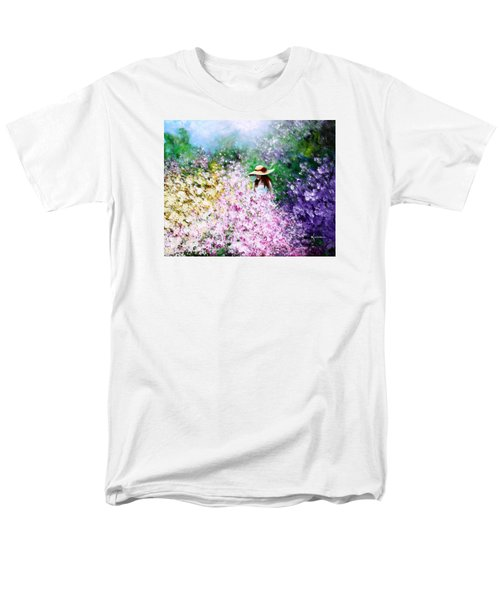 Men's T-Shirt  (Regular Fit) featuring the painting End Of May by Kume Bryant