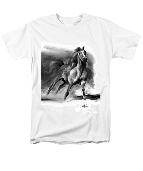 Equine II Men's T-Shirt  (Regular Fit) by Paul Davenport