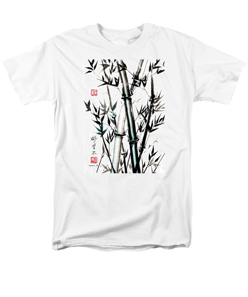 Men's T-Shirt  (Regular Fit) featuring the painting Essence Of Strength by Bill Searle