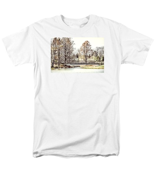 Fading Palette Of Fall Men's T-Shirt  (Regular Fit) by Julie Palencia