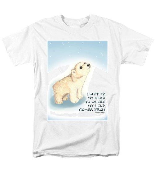 Faith Men's T-Shirt  (Regular Fit) by Jerry Ruffin