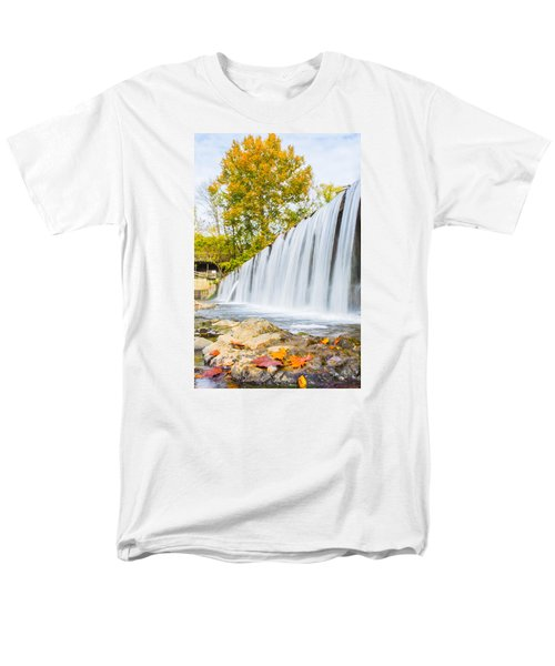 Fall At Buck Creek Men's T-Shirt  (Regular Fit) by Parker Cunningham