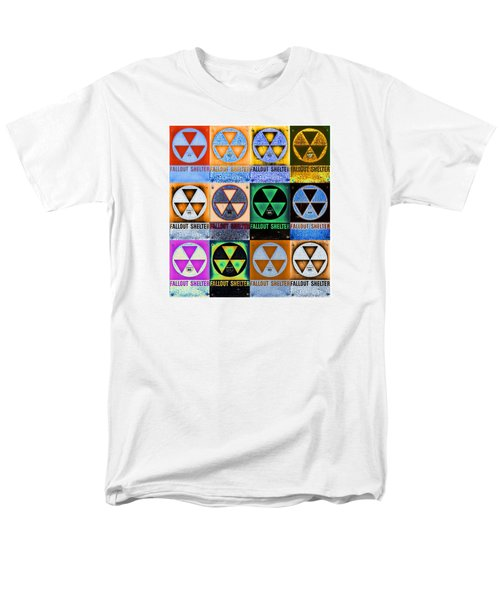 Fallout Shelter Mosaic Men's T-Shirt  (Regular Fit) by Stephen Stookey