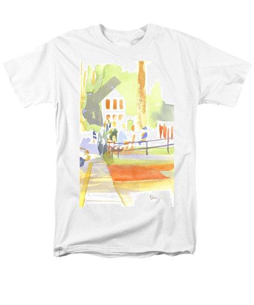 Farmers Market II  Men's T-Shirt  (Regular Fit) by Kip DeVore
