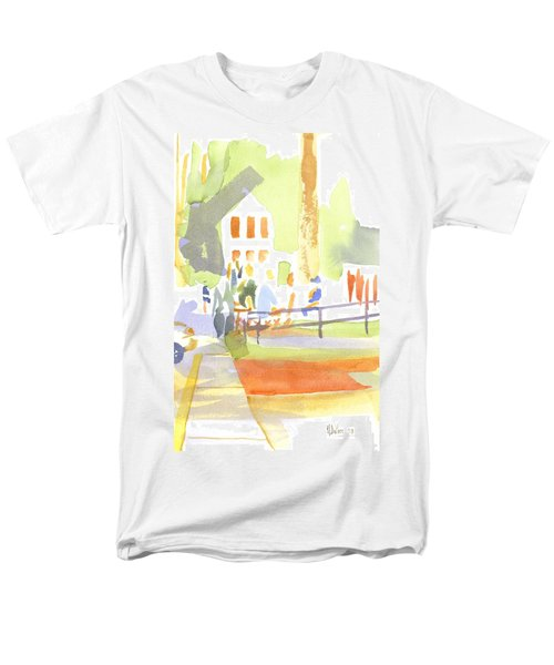 Farmers Market II  Men's T-Shirt  (Regular Fit)