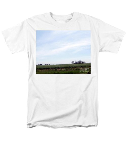 Men's T-Shirt  (Regular Fit) featuring the photograph Fields Of Source by Bobbee Rickard
