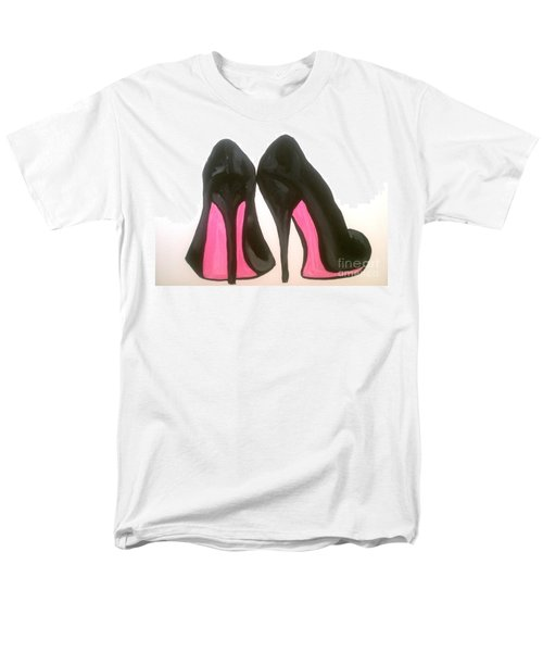 Men's T-Shirt  (Regular Fit) featuring the painting Fierce by Marisela Mungia
