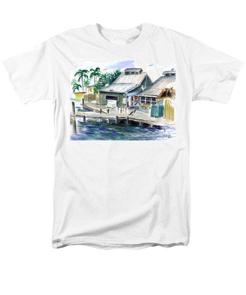 Fish House Men's T-Shirt  (Regular Fit)