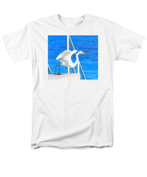 Men's T-Shirt  (Regular Fit) featuring the photograph Flaps Up by Patti Whitten
