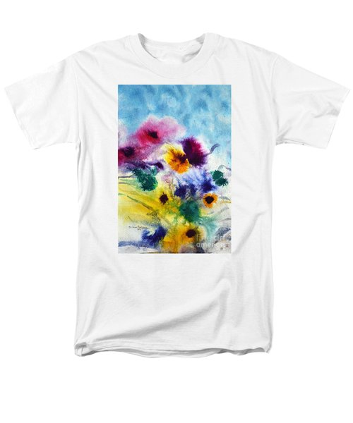Fleurs Men's T-Shirt  (Regular Fit) by Joan Hartenstein