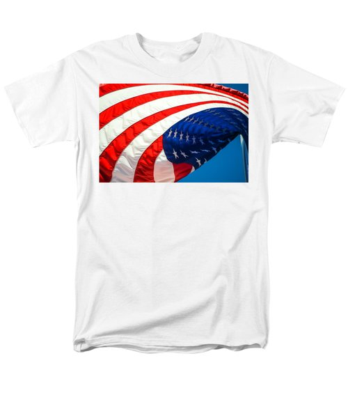 Floating Flag  Men's T-Shirt  (Regular Fit) by Mary Ward