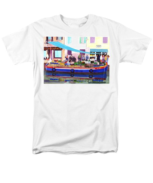 Floating Grocery Store Men's T-Shirt  (Regular Fit) by Mike Robles