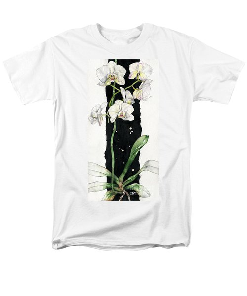 Flower Orchid 05 Elena Yakubovich Men's T-Shirt  (Regular Fit) by Elena Yakubovich
