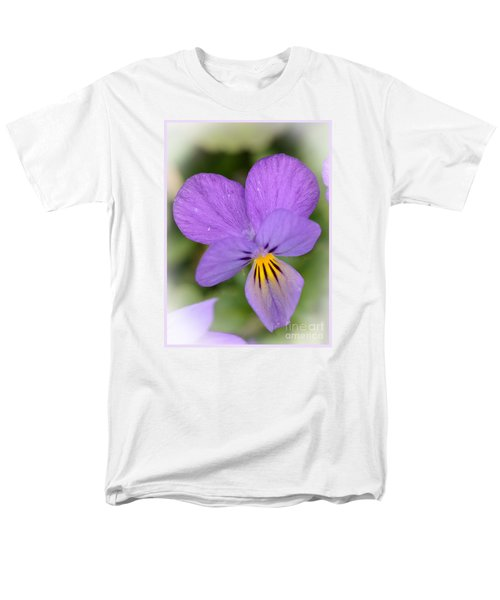 Men's T-Shirt  (Regular Fit) featuring the photograph Flowers That Smile by Kerri Farley