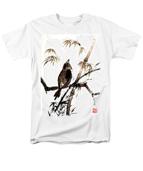 Men's T-Shirt  (Regular Fit) featuring the painting Focus by Bill Searle