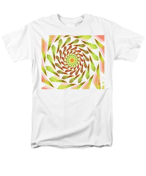 Men's T-Shirt  (Regular Fit) featuring the digital art Abstract Swirls  by Ester  Rogers