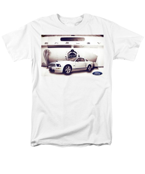 Ford Mustang Shelby Gt  Men's T-Shirt  (Regular Fit) by Gray  Artus
