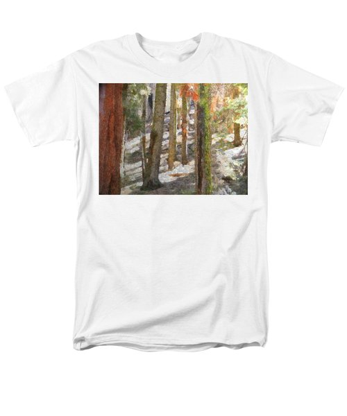 Forest For The Trees Men's T-Shirt  (Regular Fit) by Jeff Kolker