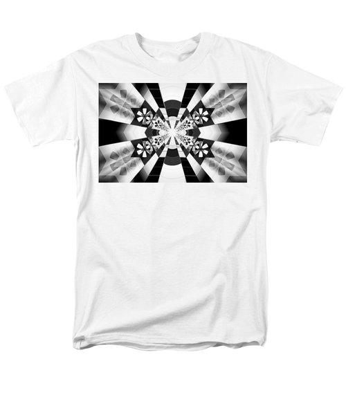 Men's T-Shirt  (Regular Fit) featuring the drawing Four Star Gateway by Derek Gedney