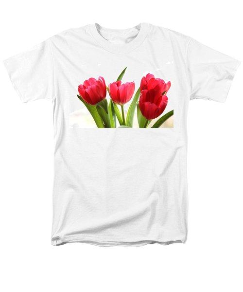 Four Tulips Men's T-Shirt  (Regular Fit) by Menachem Ganon