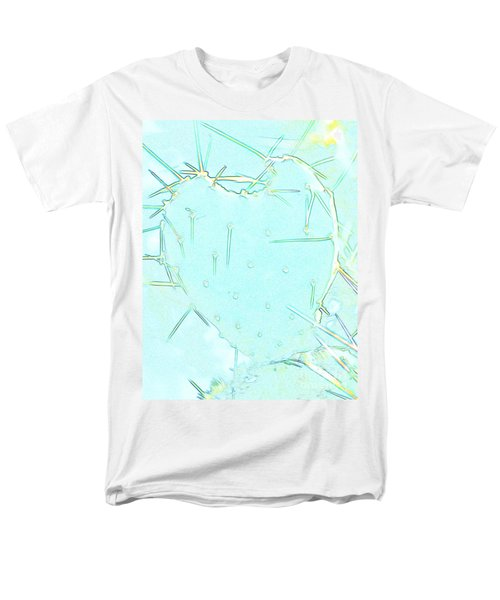 Men's T-Shirt  (Regular Fit) featuring the photograph Fragile Heart by Roselynne Broussard
