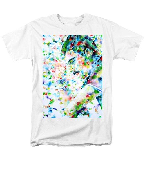 Freddie Mercury Portrait.7 Men's T-Shirt  (Regular Fit)