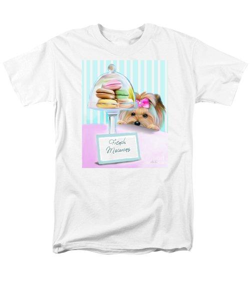 French Macarons Men's T-Shirt  (Regular Fit) by Catia Cho