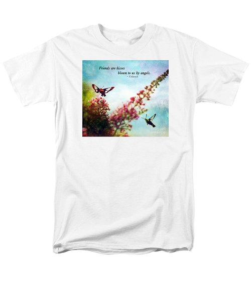 Men's T-Shirt  (Regular Fit) featuring the photograph Friends Are .....  by Kerri Farley