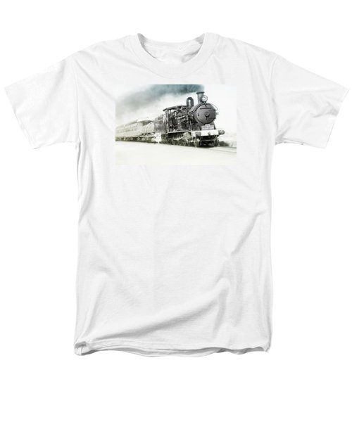 Men's T-Shirt  (Regular Fit) featuring the photograph Full Steam Ahead by Kevin Chippindall