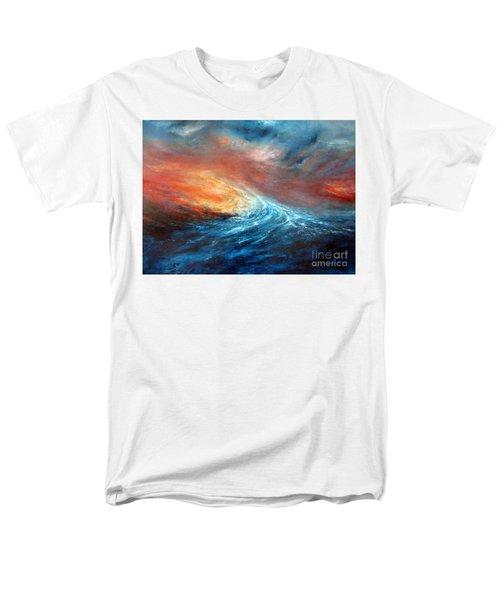 Fusion Men's T-Shirt  (Regular Fit) by Valerie Travers