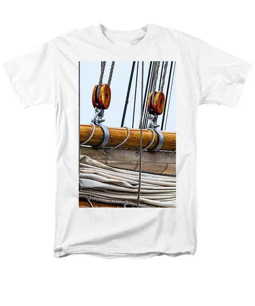 Gaff And Mainsail Men's T-Shirt  (Regular Fit) by Marty Saccone