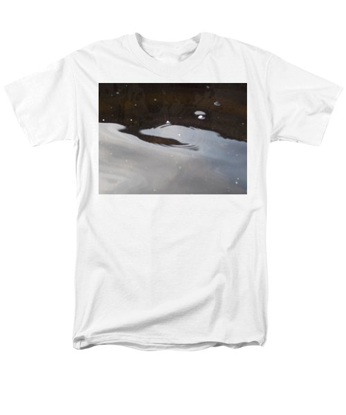 Men's T-Shirt  (Regular Fit) featuring the photograph Water In Space  by Deborah Moen
