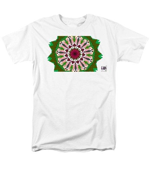 Men's T-Shirt  (Regular Fit) featuring the digital art Garden Party by Elizabeth McTaggart