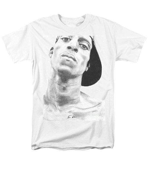 Men's T-Shirt  (Regular Fit) featuring the drawing Garnett 3 by Tamir Barkan