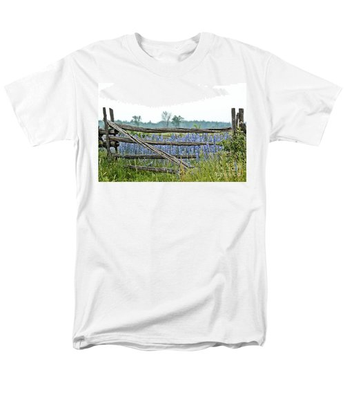 Gate To Blue Men's T-Shirt  (Regular Fit) by Cheryl Baxter