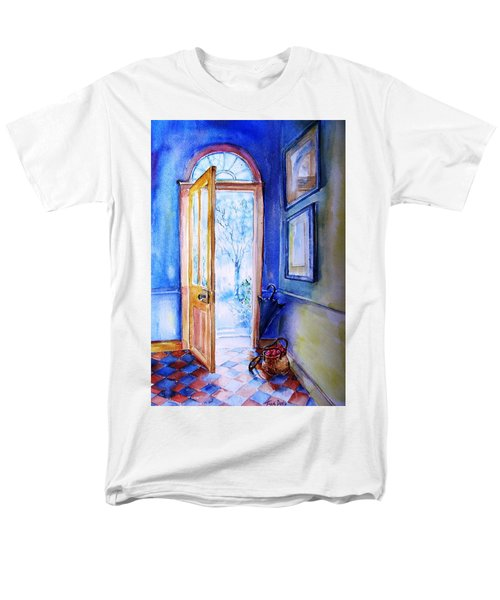 Winter Doorway Ireland    Men's T-Shirt  (Regular Fit) by Trudi Doyle