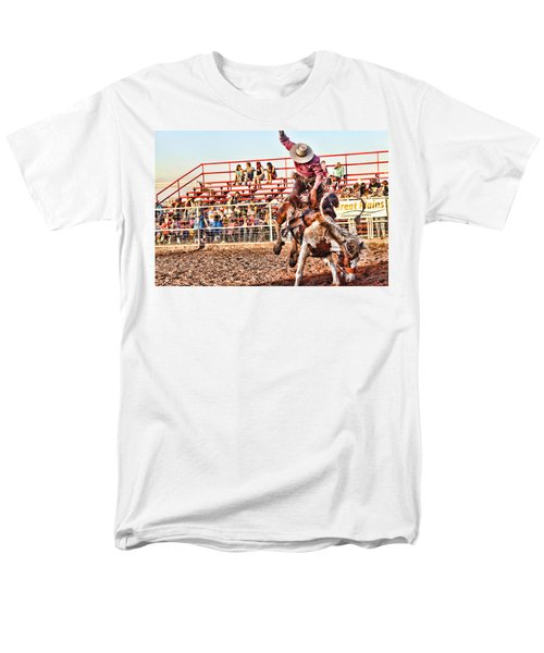 Men's T-Shirt  (Regular Fit) featuring the photograph Get Off My Back by Toni Hopper