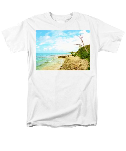 Men's T-Shirt  (Regular Fit) featuring the photograph Ghost Tree by Amar Sheow