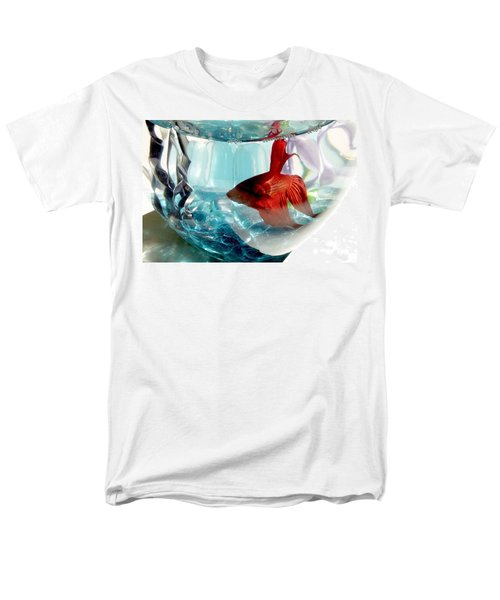 Men's T-Shirt  (Regular Fit) featuring the photograph Glamor Rudy by Valerie Reeves