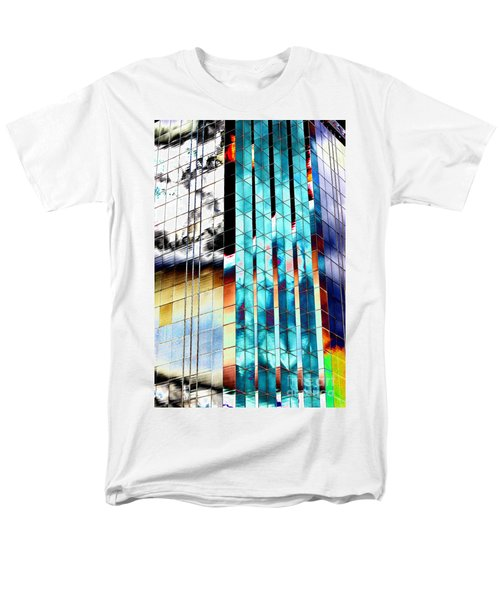 Men's T-Shirt  (Regular Fit) featuring the photograph Glass House by Christiane Hellner-OBrien