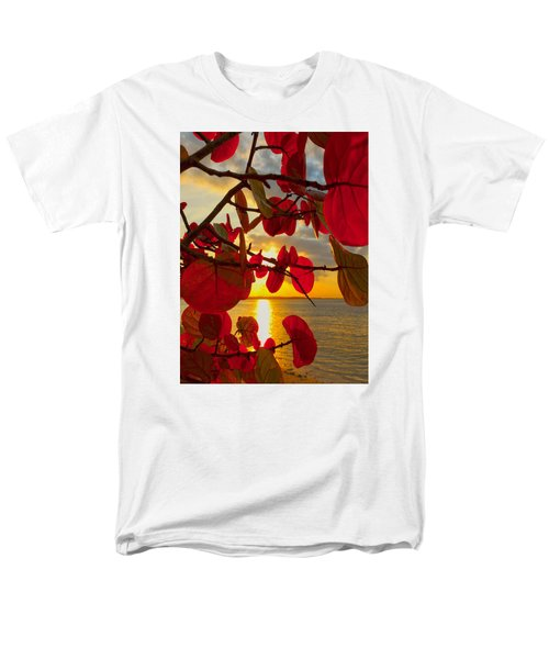 Glowing Red Men's T-Shirt  (Regular Fit) by Stephen Anderson