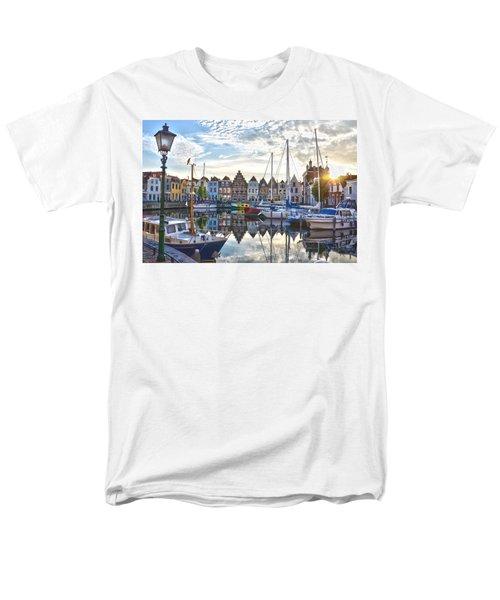 Goes Harbour Men's T-Shirt  (Regular Fit) by Frans Blok